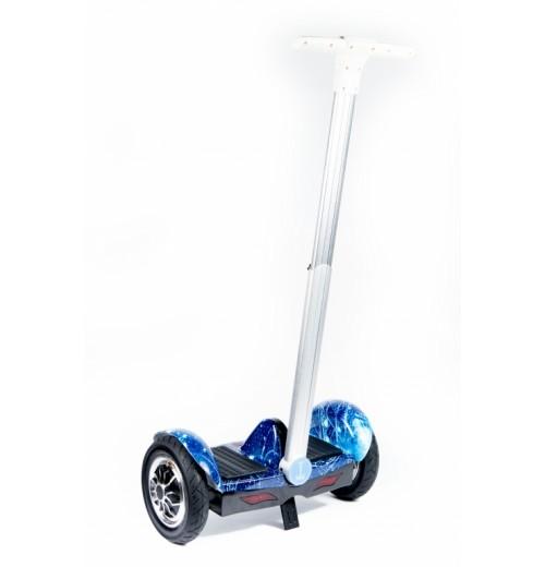Гироскутер Smart Balance SUV A8 Синий космос с прямой ручкой + Музыка + Самобаланс