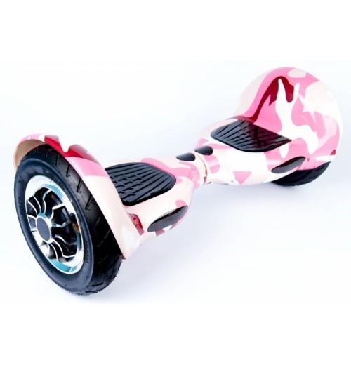 Smart Balance SUV 10 Милитари розовый + Самобаланс + Музыка