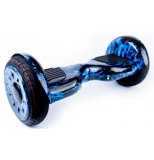 Гироскутер Smart Balance Premium 10 SUV Синий огонь + Самобаланс, Музыка, ТаоТао