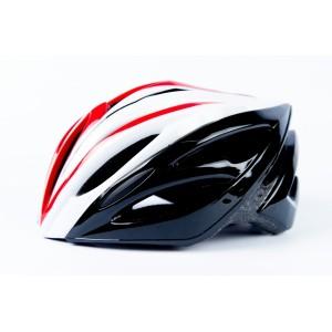Защитный шлем для гироскутера бело-красный