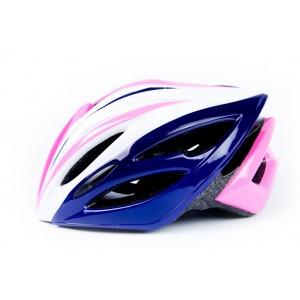 Защитный шлем для гироскутера сине-розовый