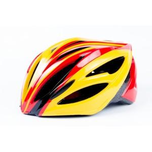 Защитный шлем для гироскутера желто-красный