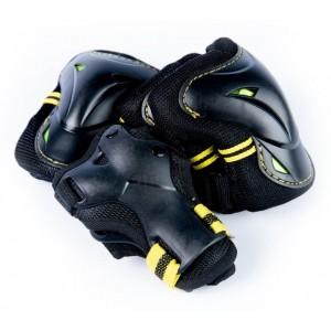 Защита для катания на гироскутере черно-желтый