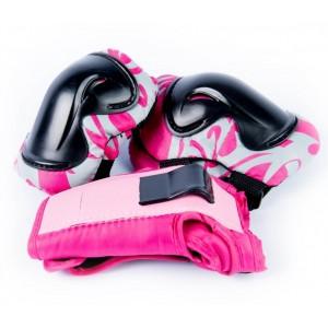 Защита для катания на гироскутере розовая