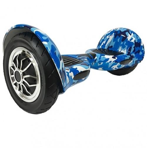 Гироскутер Smart Balance Wheel 10 дюймов Голубой хаки - Музыка + Самобаланс