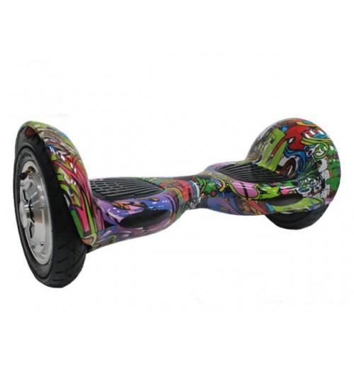 Гироскутер Smart Balance Wheel 10 Фиолетовый ХИП-ХОП - Музыка + Самобаланс